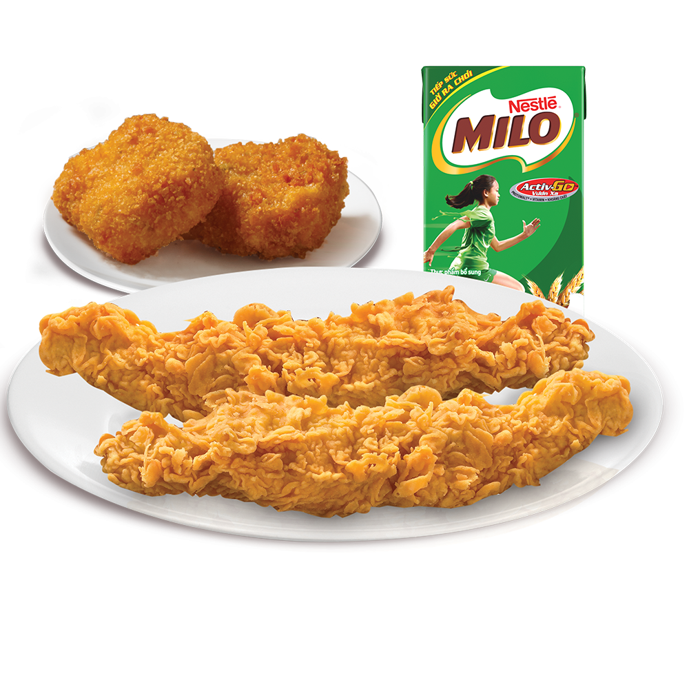 Combo kid meal 2A